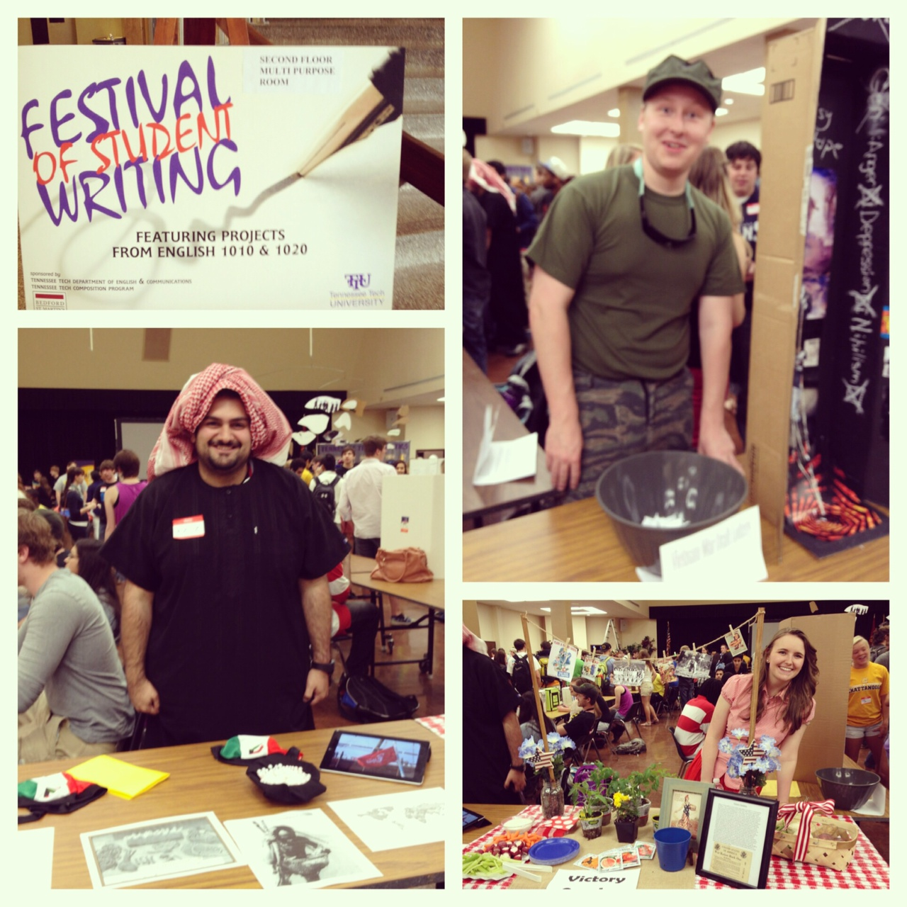 Wordless Wednesday: Festival of Student Writing