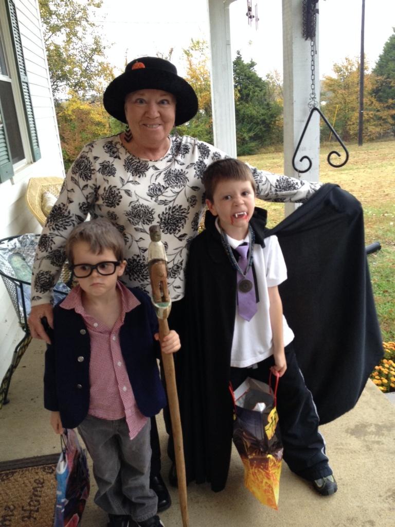 grandma w ghouls