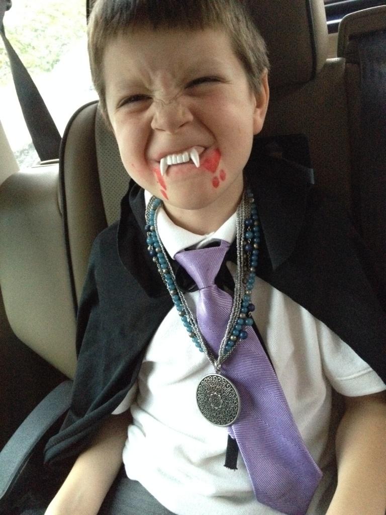 vampire grin
